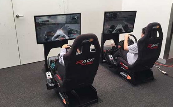 Racing Car Simulator Interactive Entertainment For Events
