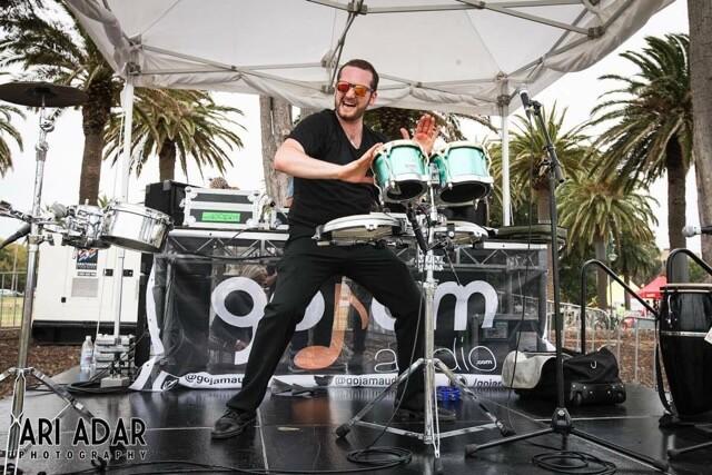 St Kilda Festival Stage Aspire DJ Band