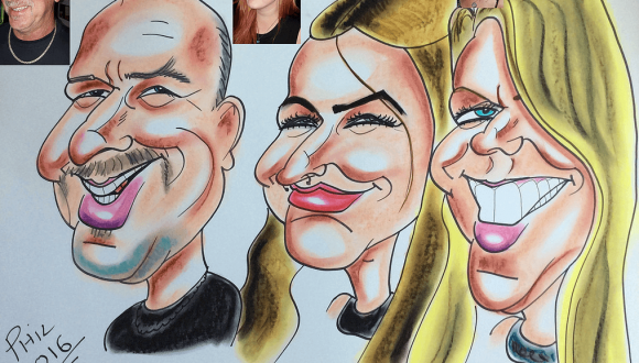 Phil Bowler Caricatures