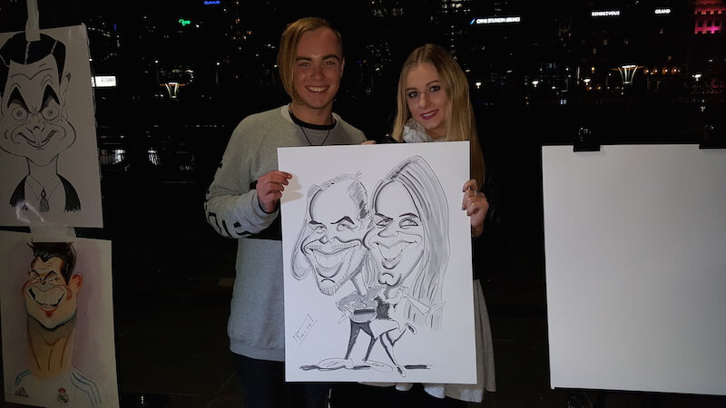 Phil the Caricaturist