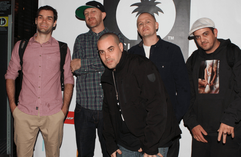 Hilltop Hoods Australian recording artists
