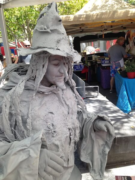 Living Statue Agnes The Witch