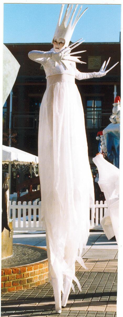 Snow Queen Stilts
