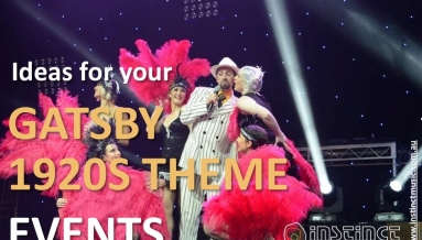 Ideas for Gatsby 1920s theme events