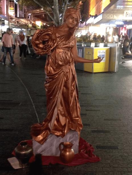 Romanesque Statue