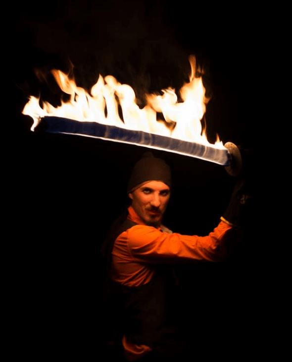 Fire Juggle Rove
