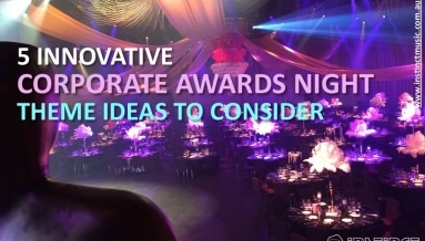 5 Innovative Corporate Awards Night Themes Ideas to Consider