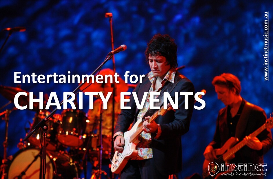 Entertainment for CHARITY EVENTS