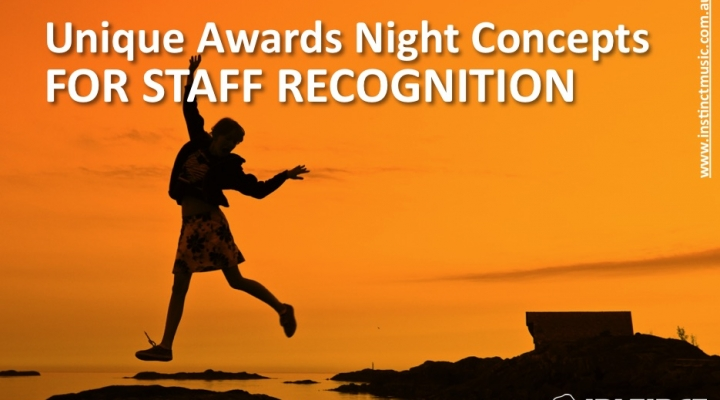 Unique Award Night Concepts for Employee Recognition