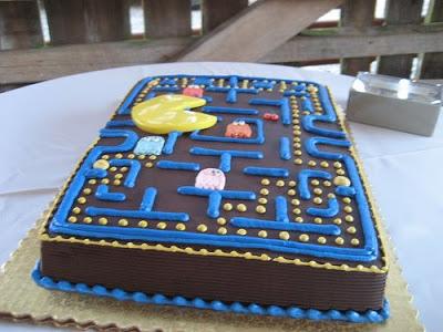 1980s Pac man cake 2