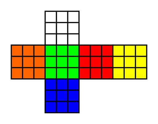 1980s rubiks cube- how to makje one