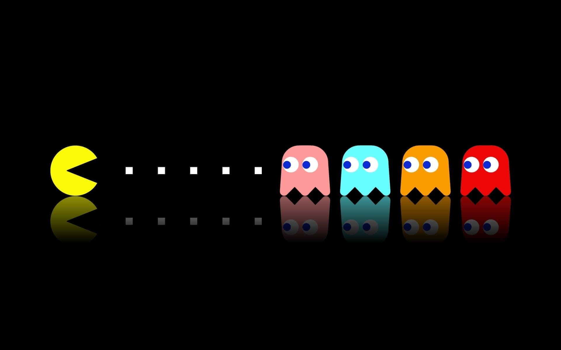 1980s theme pac man
