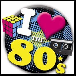1980s theme party inivtations