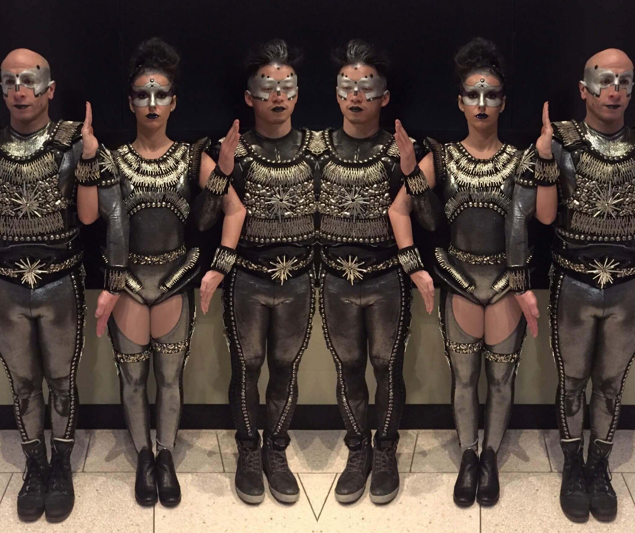 Futuristic Dancers