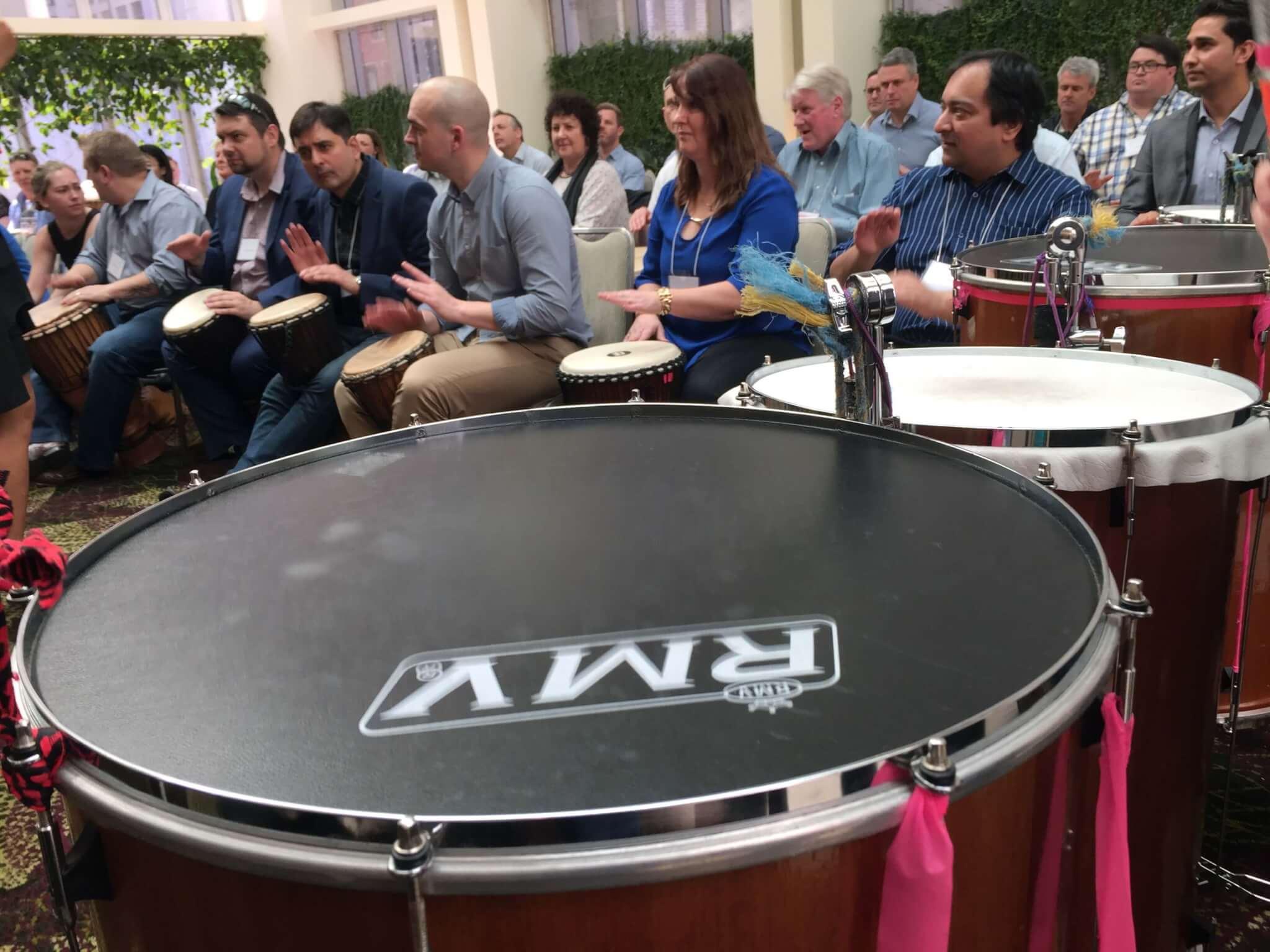 SmashIt Drumming Interactive Workshop