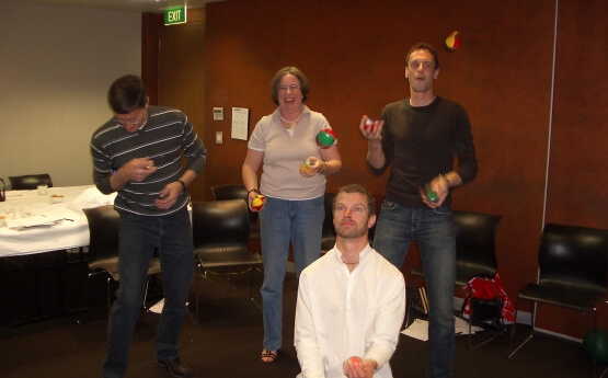 """Juggling to Succeed"" Workshop"