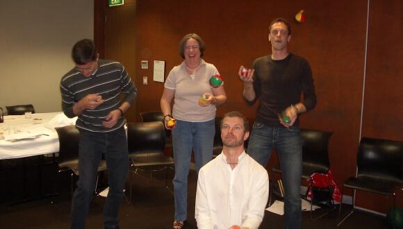 """Juggling to Succeed"" Workshop"
