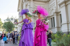 Floral Art Stilts