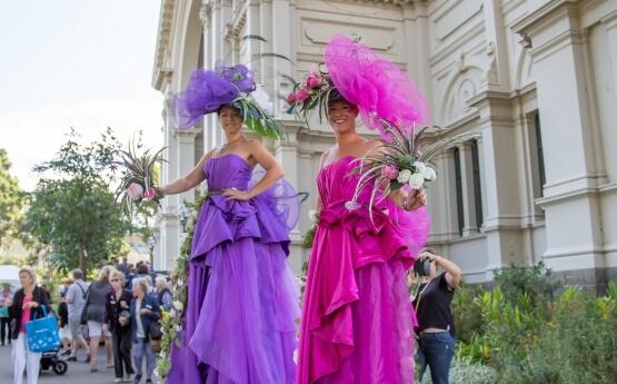 Floral Art Stilts