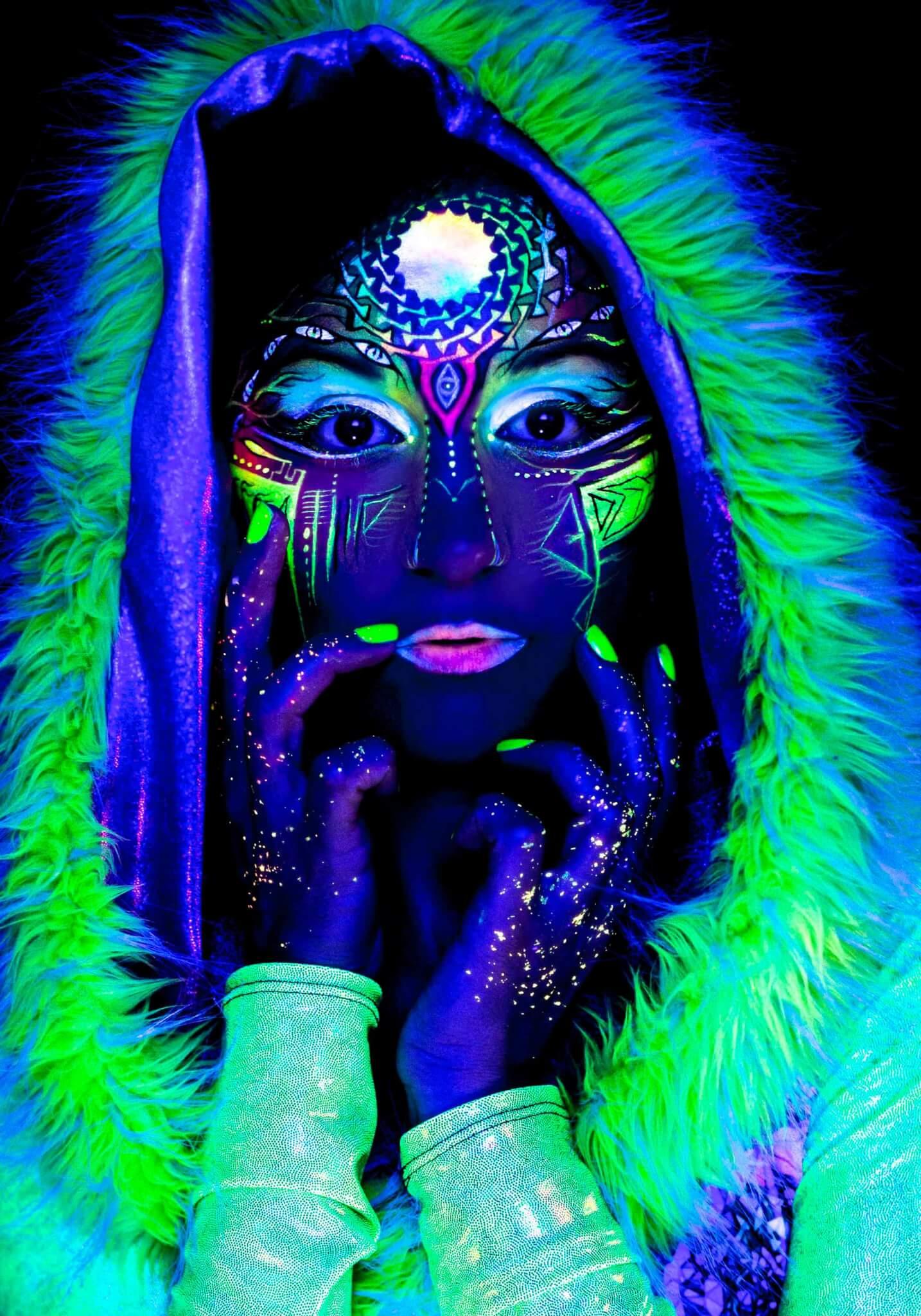 UV Face   Body Painting - Instinct Music ddc34438c3