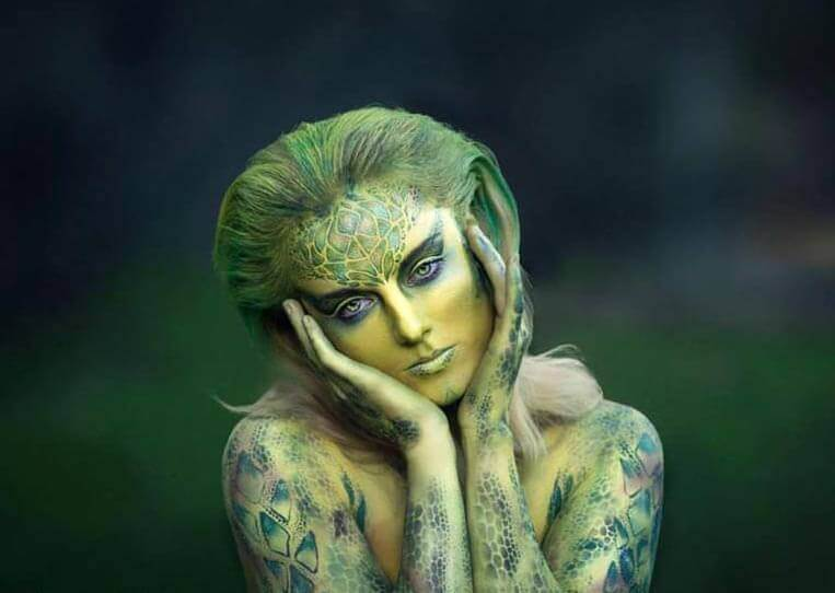 UV Face & Body Painting