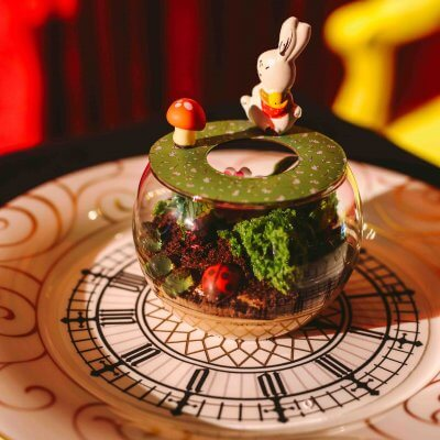 alice in wonderland themed food