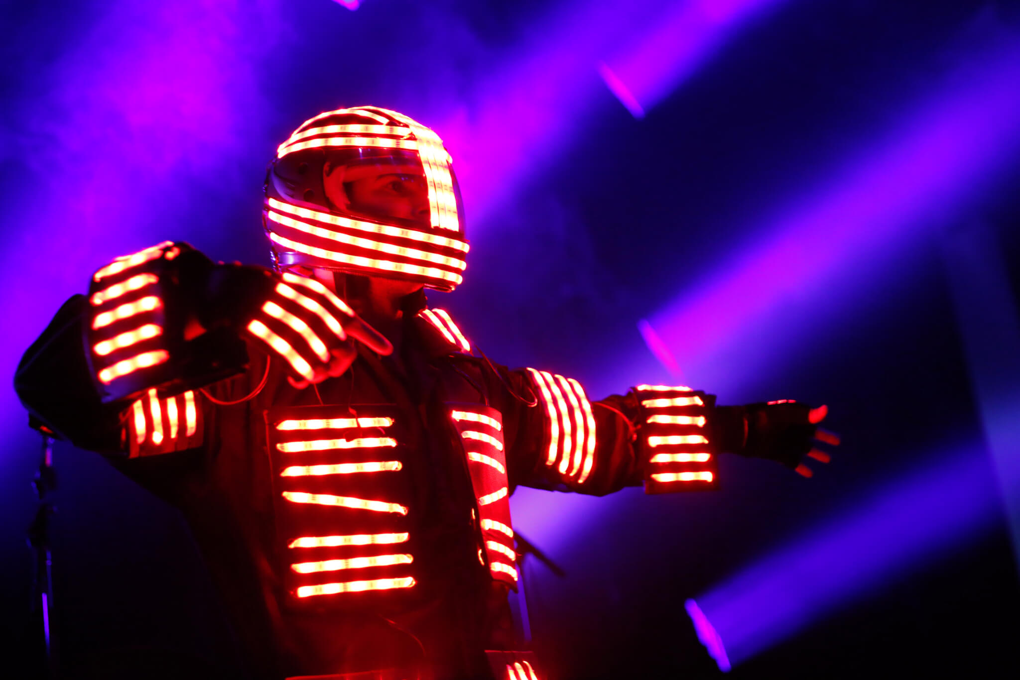 LED Robot