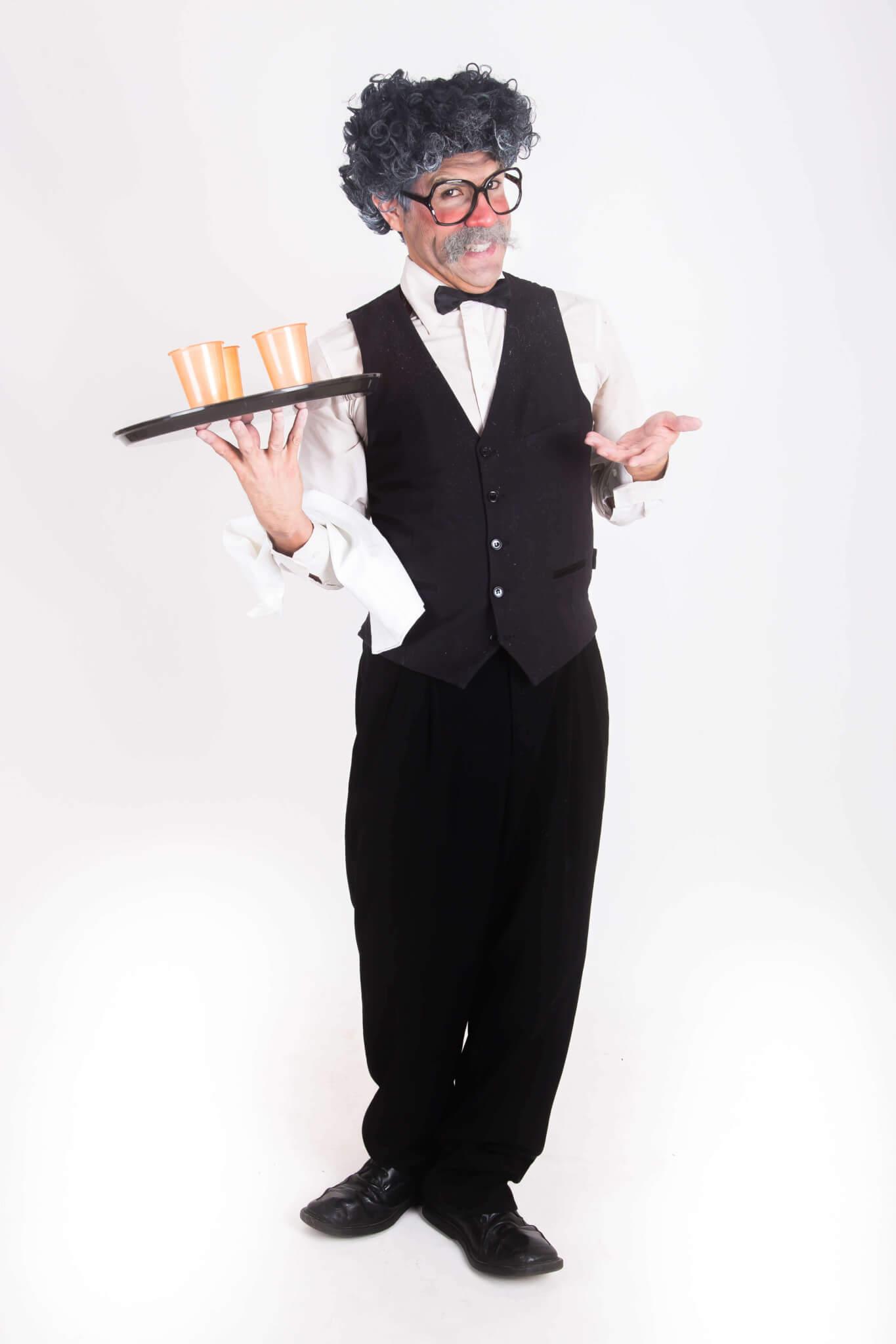 Rummy the Comic Waiter