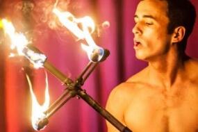 Fire Performer Carlos