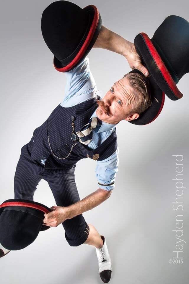 George Circus Performer
