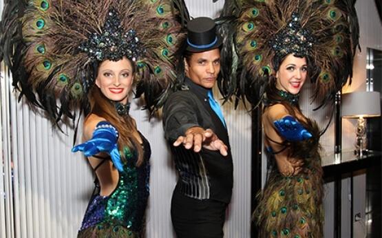 Peacock Stilt Walkers