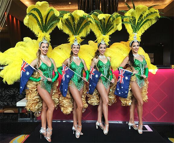Showgirls Roving & Dance Shows