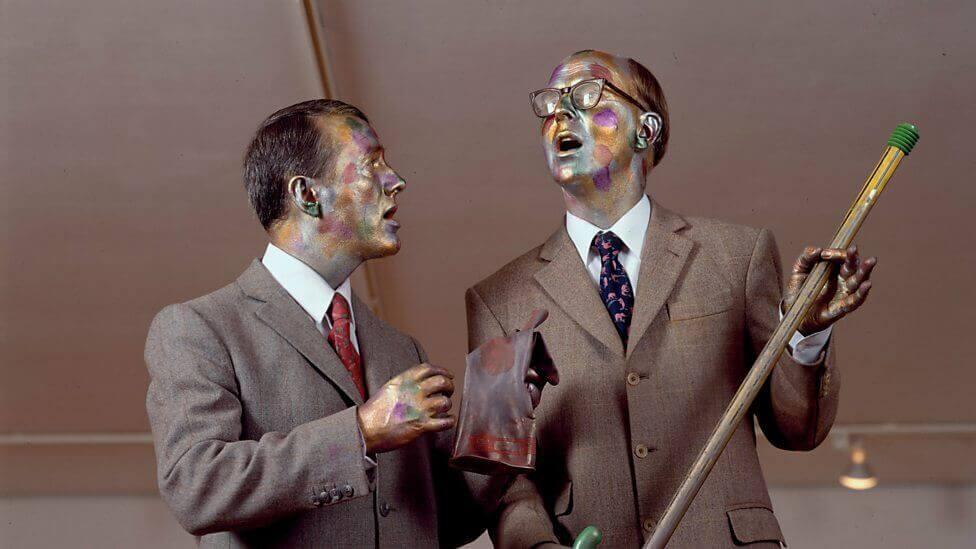 Human Statues Gilbert & George
