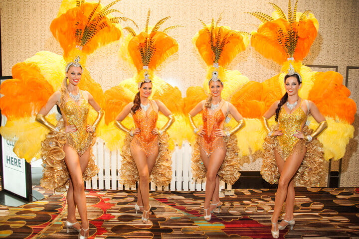 Showgirls Roving & Dance Shows