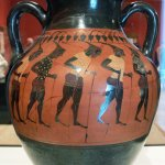 Greek Jar with Stilts