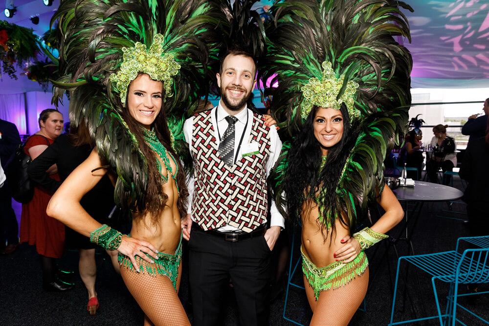 Rio Carnival Brazilian Theme Event for Crown VIP Events