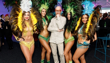 Rio Carnival Brazilian Theme Events for Crown VIP Events