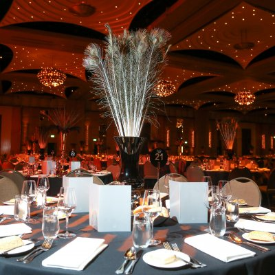 University Ball Centerpieces
