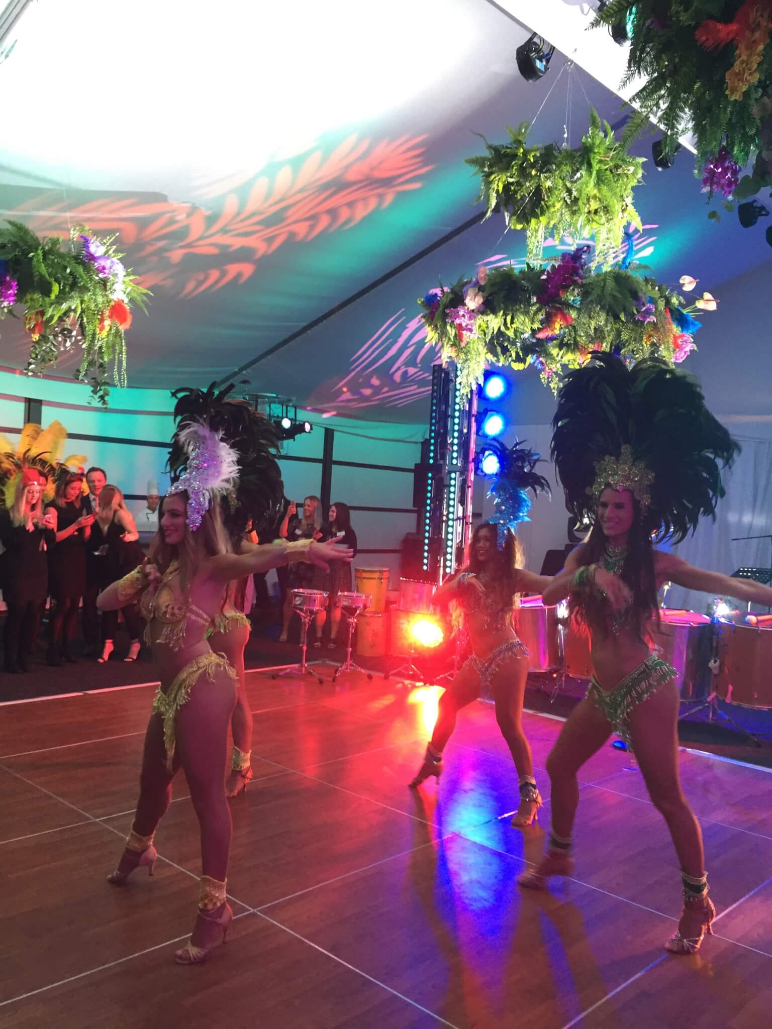 Rio Carnival Brazilian Theme Event for Crown VIP Events