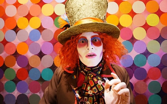 The Mad Hatter from Wonderland