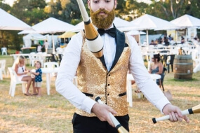 The Glitter Beard Juggler
