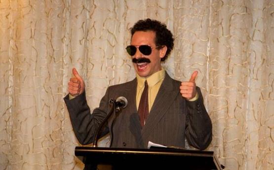 Borat Impersonator Melbourne