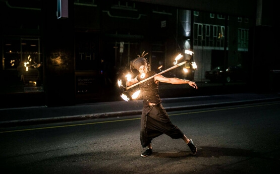 Fire Performers Adelaide