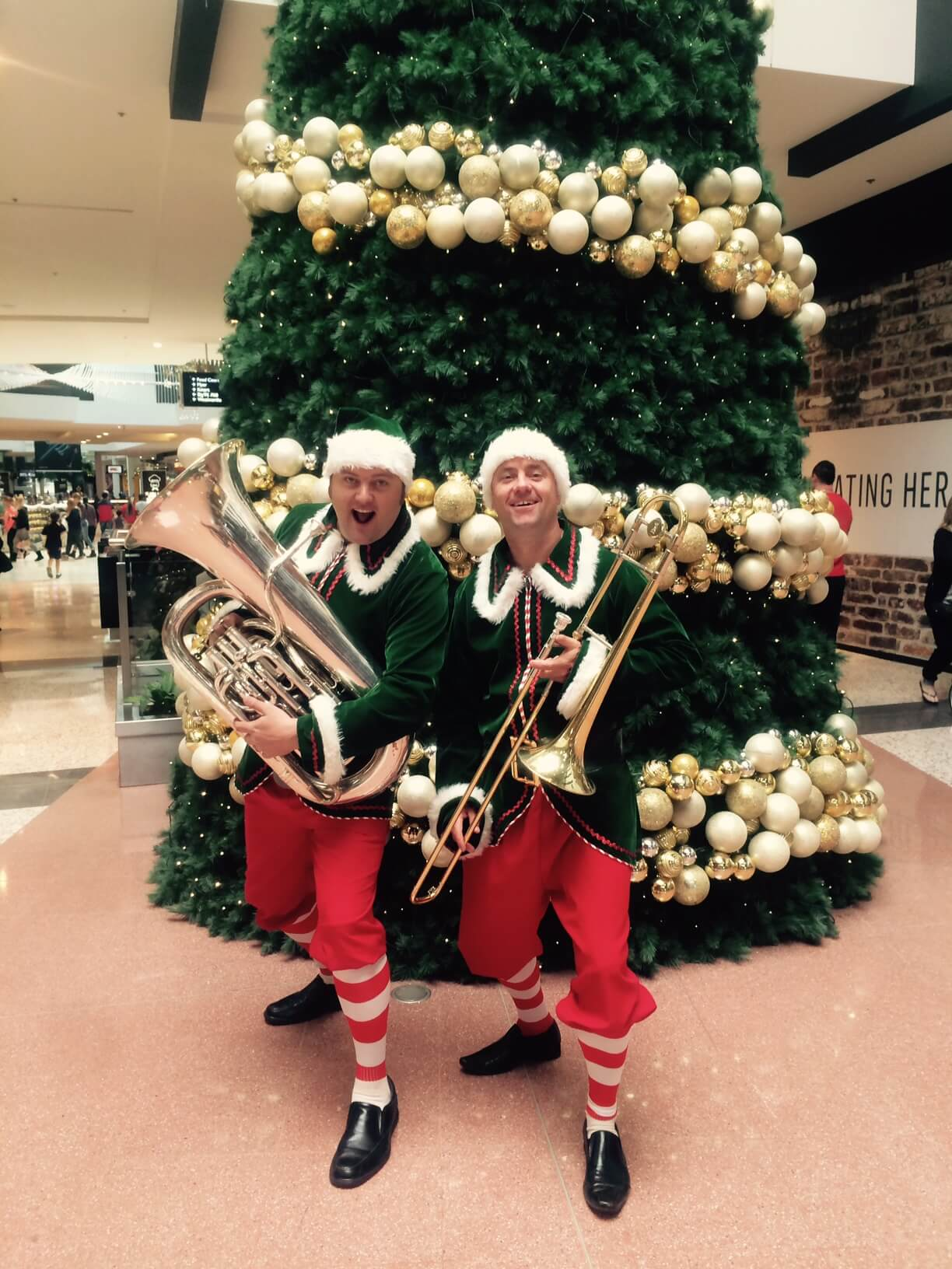 Crazy Christmas Elves