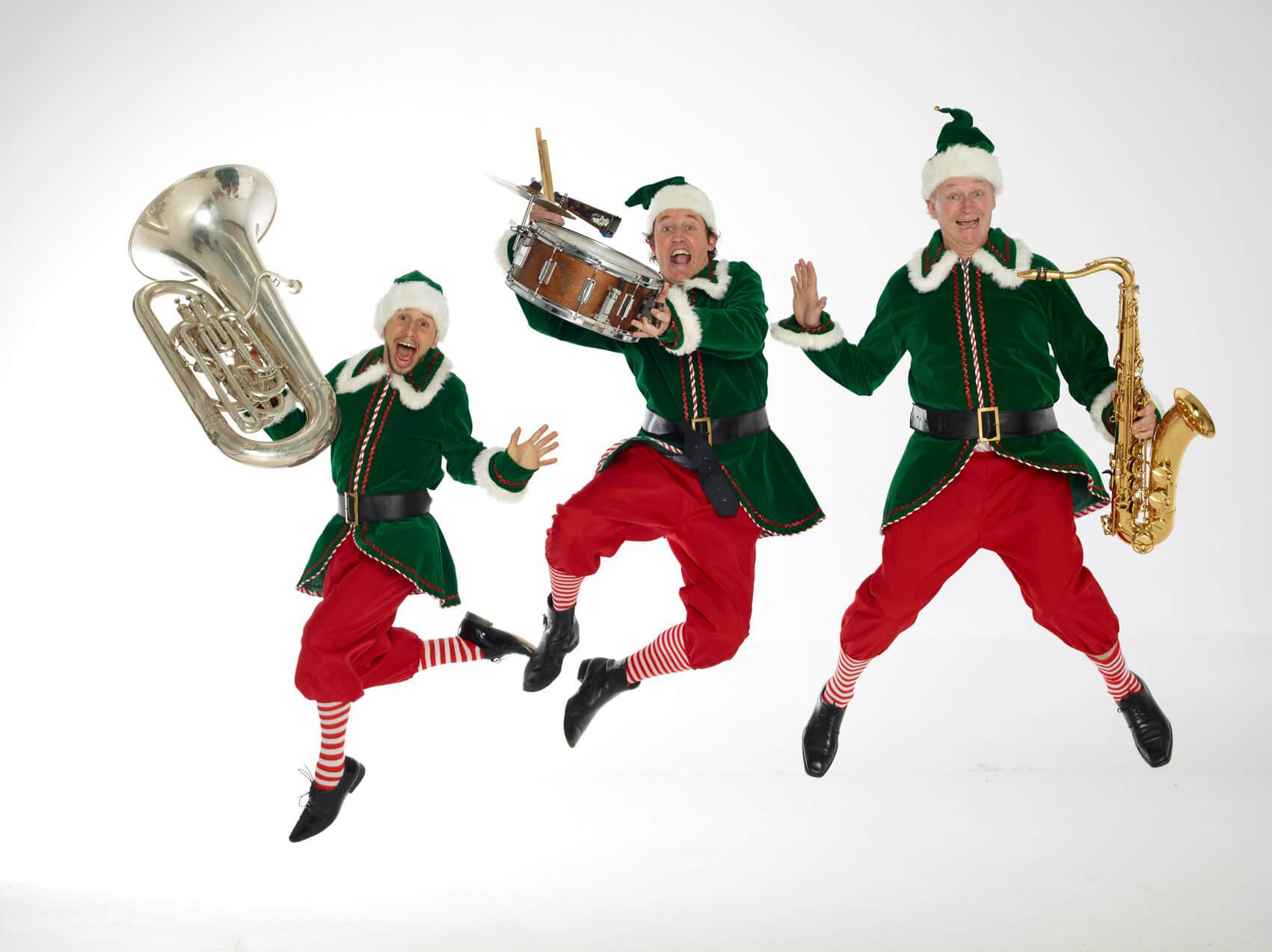 Crazy Christmas Elves Instinct Music