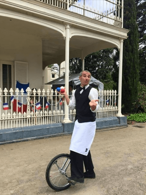 Jacques The French Waiter