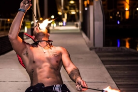 Joey on Fire | Fire Performer
