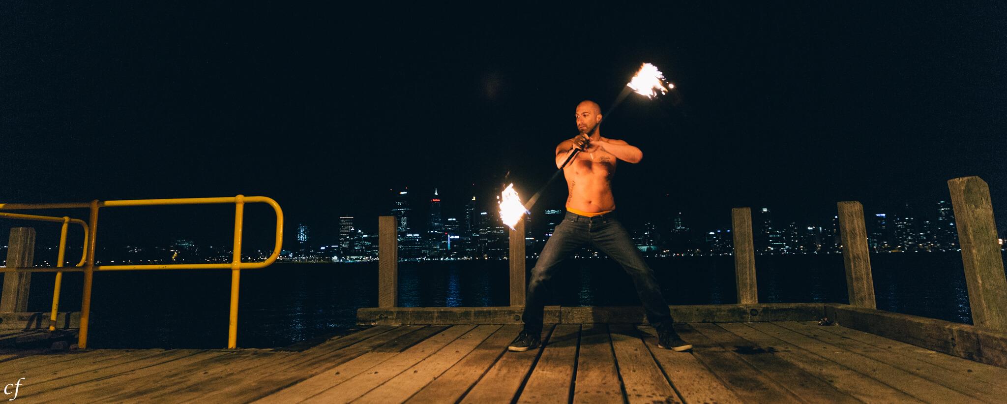 Joey on Fire | Fire Performer