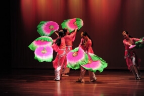 Chinese Fan Dancers