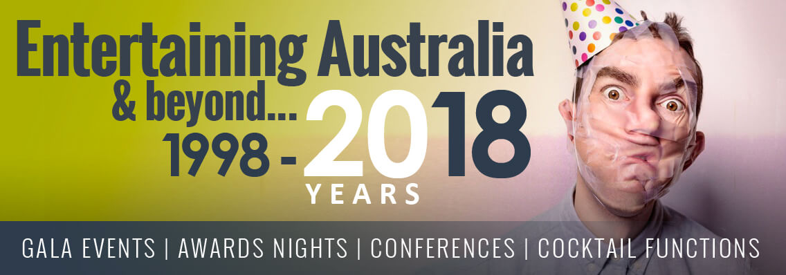 Entertaining Australia for 20 Years